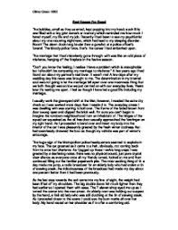 description essays the writing center  description essays