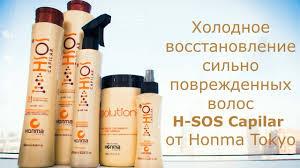 Холодное восстановление сильно поврежденных волос H-SOS ...