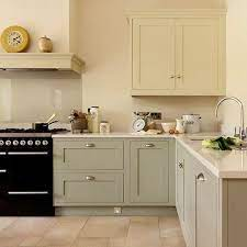 Easy On The Eyes 5 Gray Cream Kitchens And The Perfect Off White Paint Color Shaker Style Kitchens Kitchen Design Kitchen Inspirations