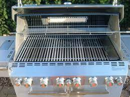 season your new snless steel grill