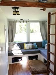 Small Picture Glamping Tiny House Interior Would You Live Here
