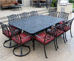 cast aluminum patio furniture sets family patio decorations Cast