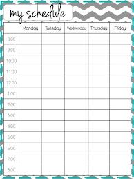 school schedule template cute school schedule template cortezcolorado net