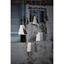 metallic pendant lighting design discoveries. Seed Design Castle Swing Mini Pendant   Concrete Metallic Lighting Discoveries