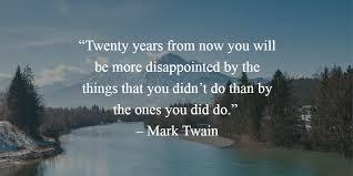 Mark Twain New Years Quote