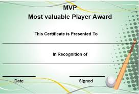 Vbs Certificate Template Mvp Award Template Magdalene Project Org