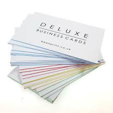 Details About Deluxe Business Cards 1160gsm With A Coloured Core Lots Of Templates Available