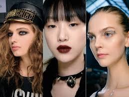 qe3 2016 autumn winter beauty trends cover photo fall winter 2016 runway makeup trend