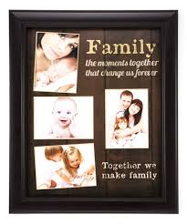 together we make family collage frame