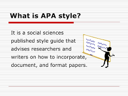 What Is Apa Style Apa Style Bsics Ids1001