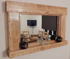 popular rustic wall mirrors