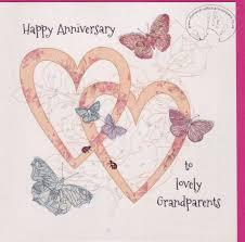 Handmade Grandparents Wedding Anniversary Card Karenza Paperie