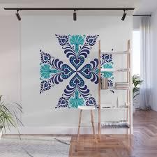 Crochet Pattern Ornament Wall Mural ...