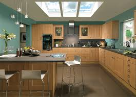 contemporary kitchens flaxley lancaster oak