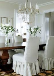 slip covers on dining chairs dining room
