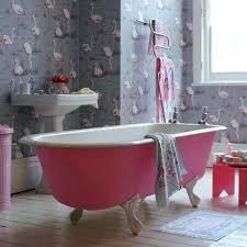 bathroom flamingo decor pink decorations on