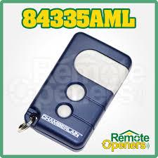 84335aml chamberlain motorlift 3 on garage door remote control genuine