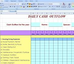 Cash Flow Excel Template Custom Made Free Excel Cash Flow Spreadsheet For Own Use