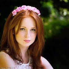 Red head small bodied teen girls