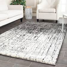 gray area rug inspirational safavieh retro mid century modern abstract black light grey of rugs photos
