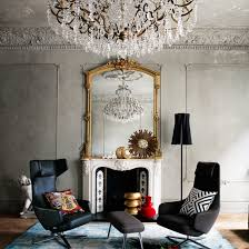 living room with statement chandelier easy living room transformations living room photo gallery