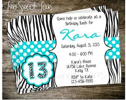 Teenage Girl Birthday Party Invitations Teenage Birthday Fresh