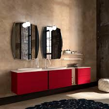 Doppelter Waschtisch Unterschrank Hängend Holz Modern