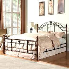 California King Iron Bed King Iron Bed Frames Beds Mesmerizing ...