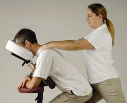 chair massage. on-site chair massage