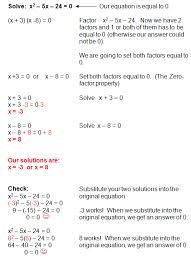 factoring quadratic equations is one of several methods used to solve quadratic equations the step by step examples and practice problems will guide you