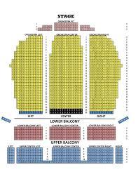 Ppac Seating Chart Fox Performing Arts Center Seating Chart Bright Seating At