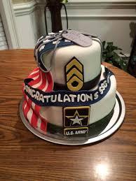 Army Retirement Cake Cakecentralcom