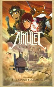 the cloud searchers amulet book 3 kazu kibuishi 9780329800048 amazon books