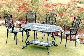 Appealing Antique Wrought Iron Patio Furniture Home Devotee