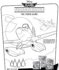 Disney Planes Dusty Coloring Pages Coloringpagepics