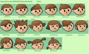 Animal Crossing Hairstyles