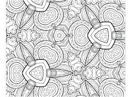 Abstract Coloring Pages For Kids Free Patterns Art Printable Adults