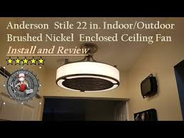 stile anderson 22 in enclosed ceiling
