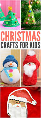 Kids Christmas Crafts Christmas Crafts For Kids To Make Easy Peasy And Fun