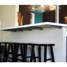 glass countertop supports support brackets raised
