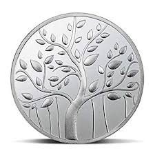 Silver Coin Weight Chart Arihant Gems And Jewels Mmtc Pamp Banyan Tree Silver 999 Coin With Capsule Packing