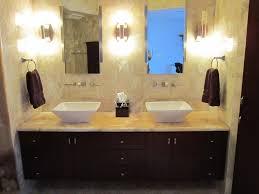 image of high end custom bathroom cabinets