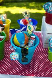 return gifts for 1st birthday beautiful colorful pool themed birthday party s we love of return