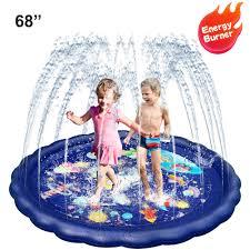 Kiddie Pool Sprinkler for <b>Kids Water</b> Table Splash Pad <b>Toys</b> Outdoor ...