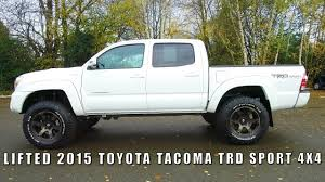 lifted toyota trucks 2015. Unique Toyota LIFTED 2015 TOYOTA TACOMA TRD SPORT 4X4 Throughout Lifted Toyota Trucks A