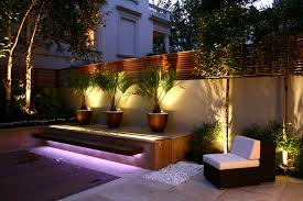 Lighting in garden Designer Get The Lighting Right In Your Small Garden Female First Designing Successful Small Gardens Lighting The Basic Dos And Donts