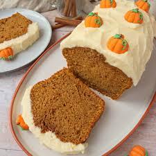 pumpkin loaf cake the baking explorer