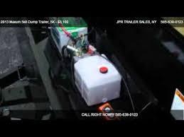 maxum x dump trailer k for in holley ny  2013 maxum 5x8 dump trailer 5k for in holley ny 14470