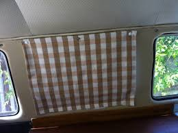 attractive rv bathroom curtains campervan curtains blinds camper poppered blinds delilah s vw figure and rv