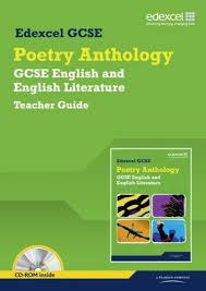 edexcel gcse poetry anthology teacher
